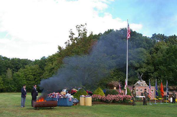 2007 Flag Retirement Ceremony