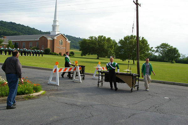 The Cavaliers Drum & Bugle Corps visit Schuylkill Haven